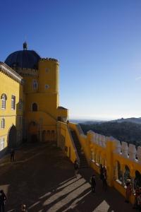 La vue depuis le Palácio da Pena