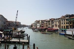 Vue depuis le pont Rialto