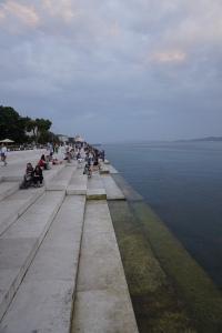 Le célèbre orgue maritime de Zadar