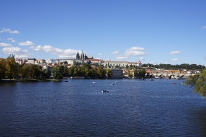Prague et la Vltava