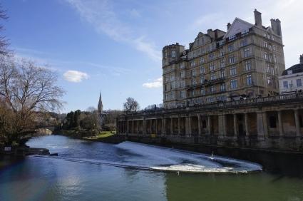 Le barrage de Pulteney à Bath