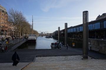 Au bord de la rivière Avon à Bristol