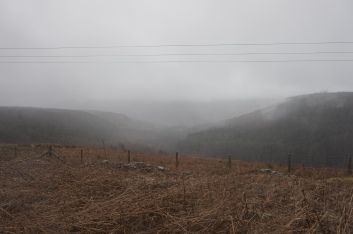 Tentative de photo sous la pluie au Brecon Beacons National Park