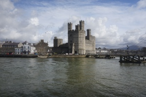 Le château-fort de Caernarfon