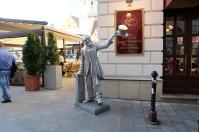 Les statues de Bratislava