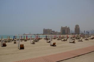 La plage déserte de Katara