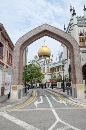 Mosquée Sultan du quartier arabe