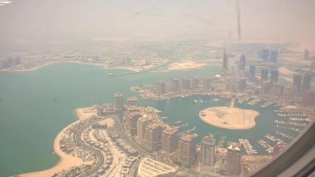 Doha vue du ciel
