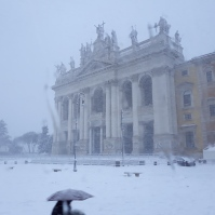 Rome en manteau blanc