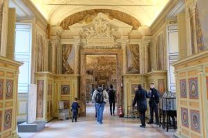 Les superbes salles des Musées du Vatican