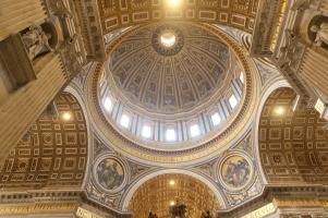 La coupole de la basilique Saint-Pierre