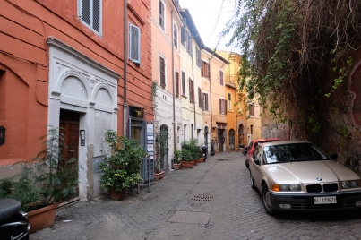 Les couleurs de Trastevere