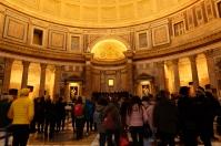 L'intérieur du Panthéon