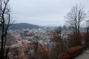 Vue depuis la colline du château