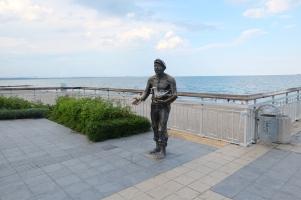 Au bord de la mer Noire à Bourgas