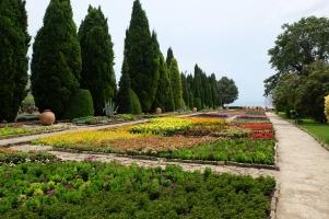 Les jardins botaniques de Baltchik