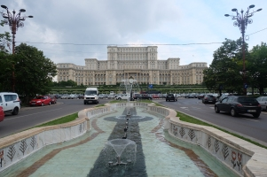 Le palais du Parlement
