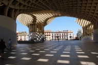 Sous le Metropol Parasol ou la Setas de Sevilla